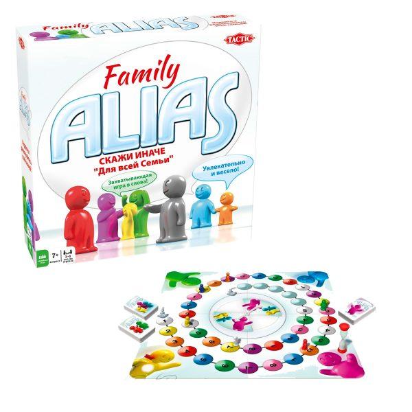 СКАЖИ ИНАЧЕ для всей семьи (Family ALIAS)