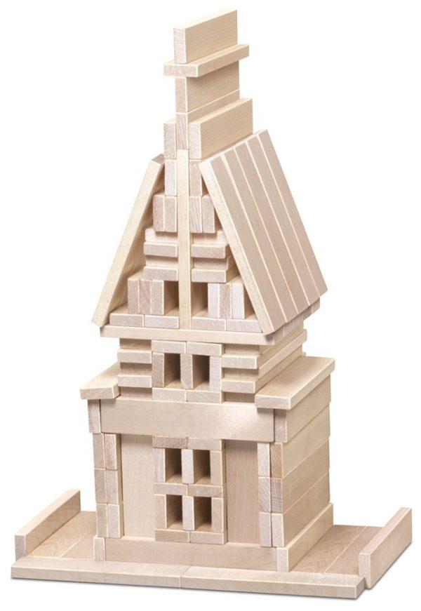 Конструктор деревянный BrusOk! 80 эл