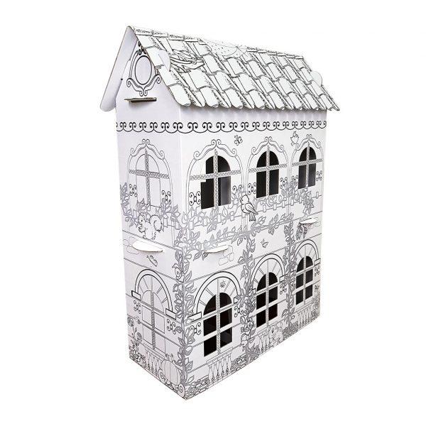 Картонный домик для принцессы