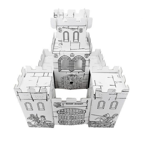 Картонный домик. Рыцарский замок