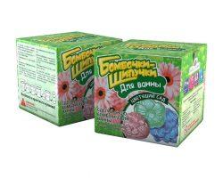 Бомбочки-Шипучки. Цветущий сад