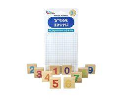 Набор деревянных фишек «Учим цифры»