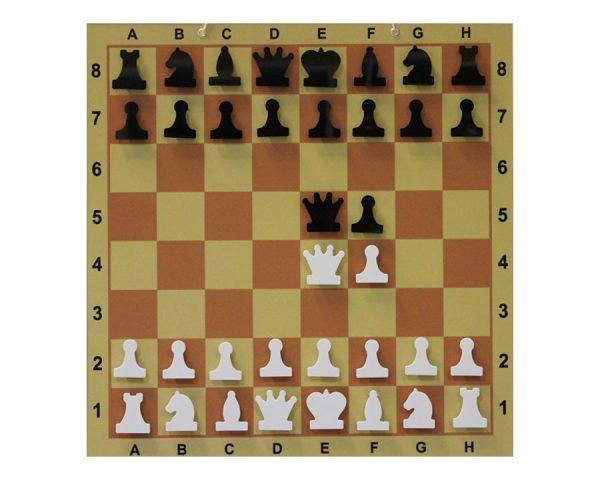 Доска шахматная демонстрационная ламинированная 80х80 см