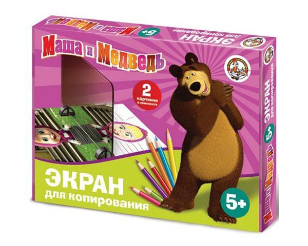 Экран для копирования «Маша и медведь»