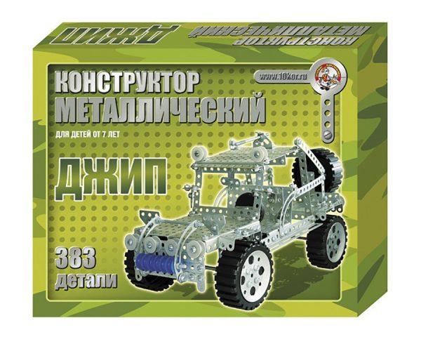 Конструктор металлический «Джип»