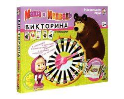 Викторина «Маша и Медведь»