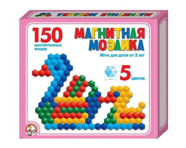 Мозаика магнитная шестигранная d20/5 цв/150 эл