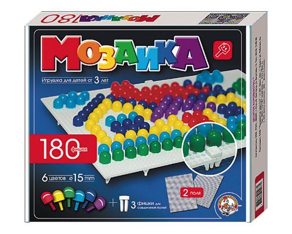 Мозаика d15/6 цв/180 эл/2 поля