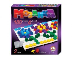 Мозаика d20п/6 цв/180 эл/2 поля
