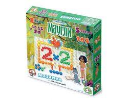 Мозаика с аппликацией «Маугли» d10, d15, d20/105 эл/2 поля (Союзмультфильм)