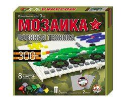 Мозаика фигурная/8 цв/300 эл/2 поля/военная техника