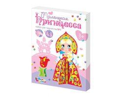 3D «Принцесса 4» со стразами