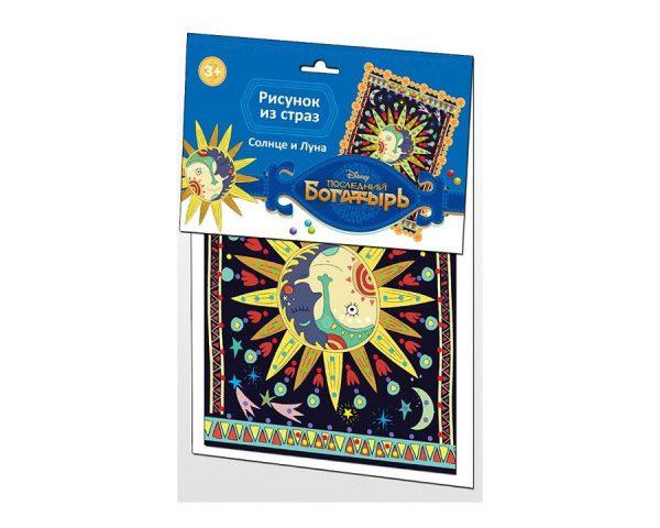 Рисунок из страз «Последний Богатырь. Солнце и Луна» Дисней