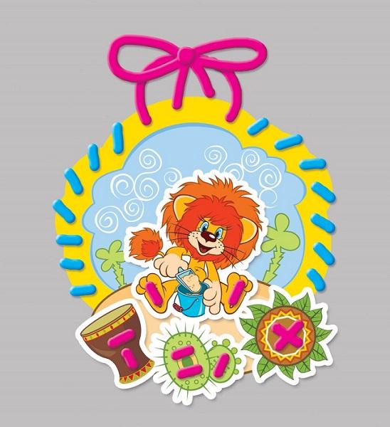 Шнуровка для малышей «Львенок и Черепаха» (Союзмультфильм)