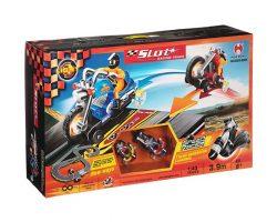 Трек восьмерка (свет) 390см Racing Track, 2 машины