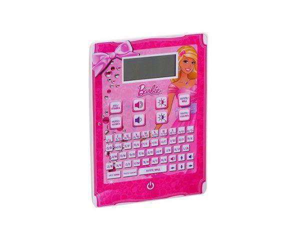Обучающий планшет русско-английский, 120 функций, BARBIE, вертикальный