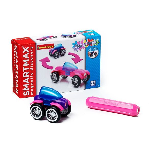 Магнитный конструктор SmartMax/ Специальный (Special) набор: Розовый и Фиолетовый