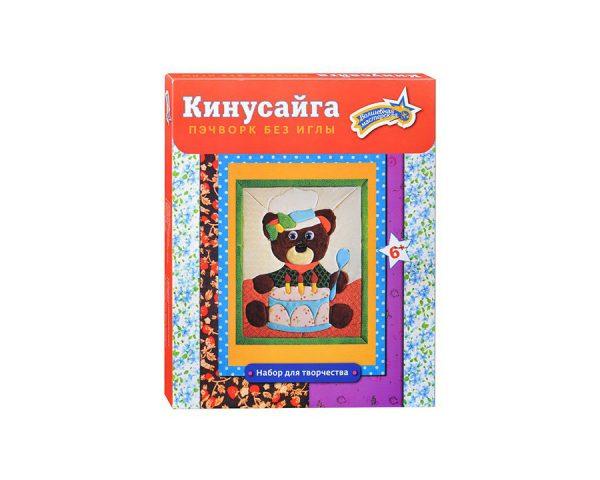Набор для творчества Кинусайга «Мишка»