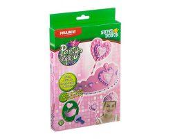 Party style, с короной и с массой для лепки, розовый (Набор Paulinda)