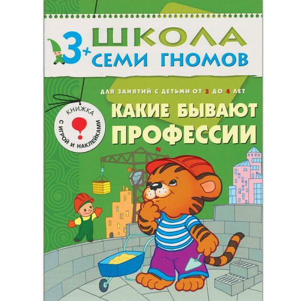 Школа семи гномов 3-4 года. Полный годовой курс (12 книг с картонной вкладкой)