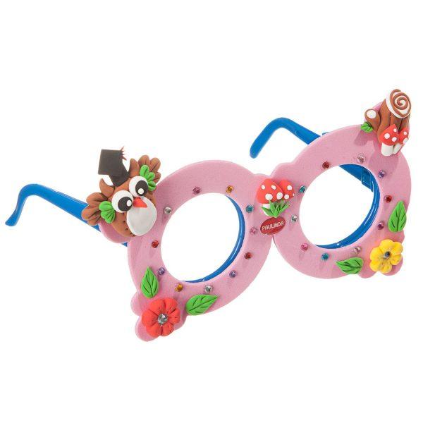 Укрась свои очки, с массой для лепки, розовый (Набор Paulinda)