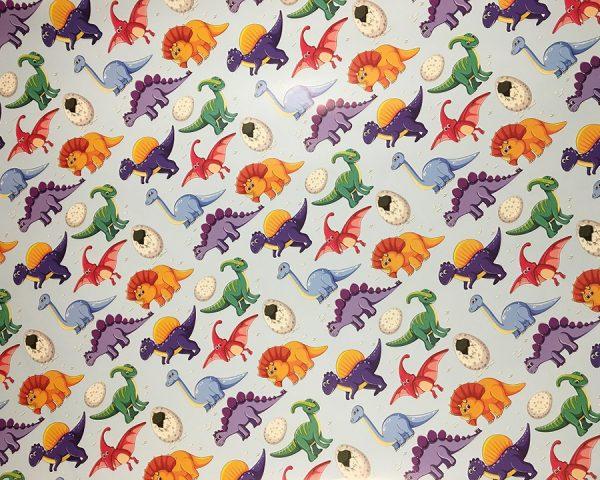 Упаковочная бумага «Динозаврики» (PLDG-дет)