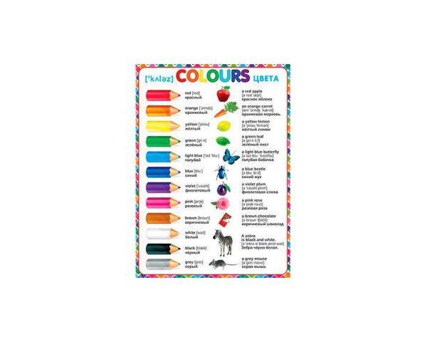 Плакат «COLOURS»