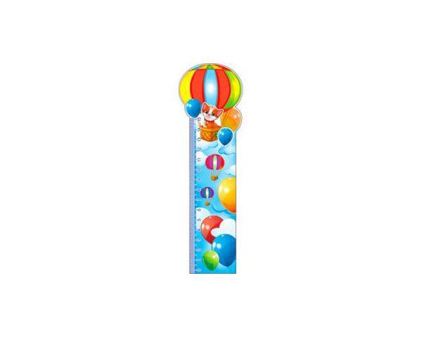 Закладка-линейка «Воздушные шары»