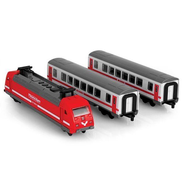 Железная дорога в наборе Play Smart на батарейках (свет, звук, мелодии)