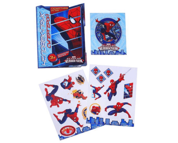 Игра сказка «Человек- паук супергерой», Человек Паук