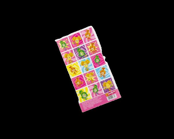 Наклейки детские декоративные ФИКСИКИ «Симка, Верта и Шпуля», 15х8 см