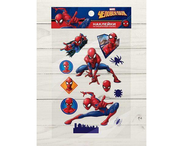 Наклейки на прозрачной пленке «Супергерой», Человек-паук