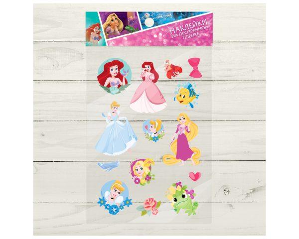 Наклейки на прозрачной пленке «Ты принцесса!», Принцессы