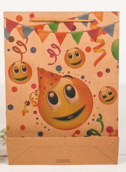 Пакет крафт «Вечеринка»