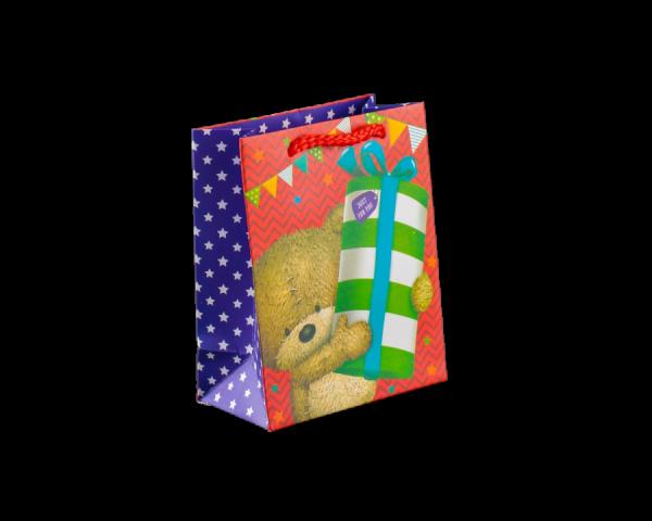 Пакет ламинированный «Просто для тебя» со звездочками