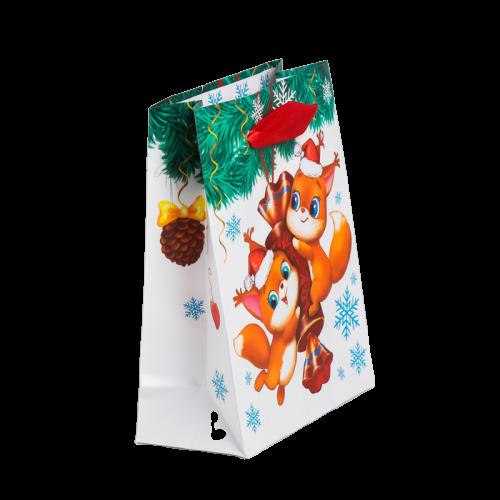 Пакет ламинированный «Весёлого праздника»