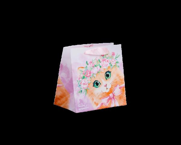 Пакет ламинированный квадратный «Кто тут такой милый?»