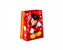 Пакет подарочный «С днём рождения», Микки Маус