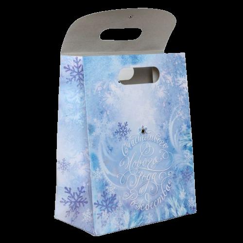 Пакет подарочный «Счастливого Нового Года и Рождества»