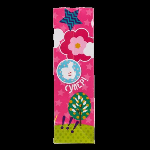 Пакет подарочный с фигурной ручкой «Самая классная», Минни Маус