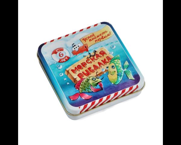 Морская рыбалка (жестяная коробочка)