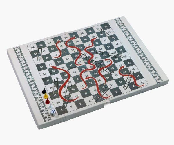 Игры настольные классические. «Лудо», «Лестницы и Змеи»