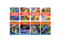 Мини-энциклопедии набор «Узнаём про всё вокруг №2», 8 шт. по 20 стр.