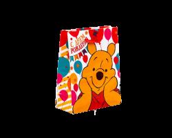 Пакет подарочный «С днём рождения», Медвежонок Винни