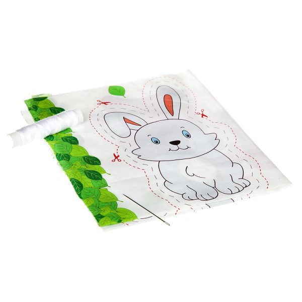 Шить — просто! Заяц и мишка