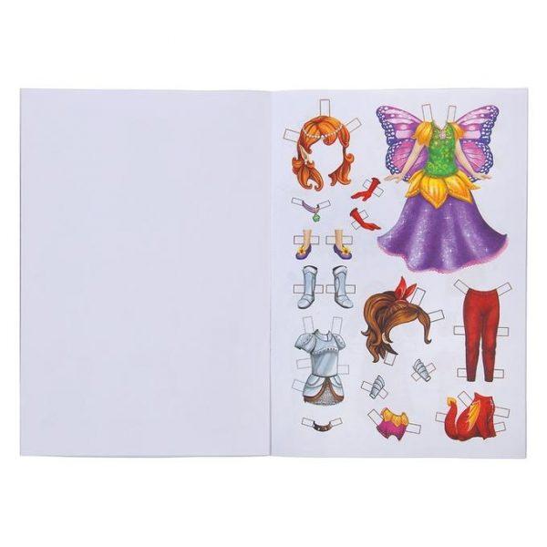 Книга куколка бумажная «Карнавальная коллекция»