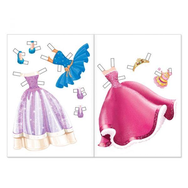 Книга куколка бумажная «Кристи»