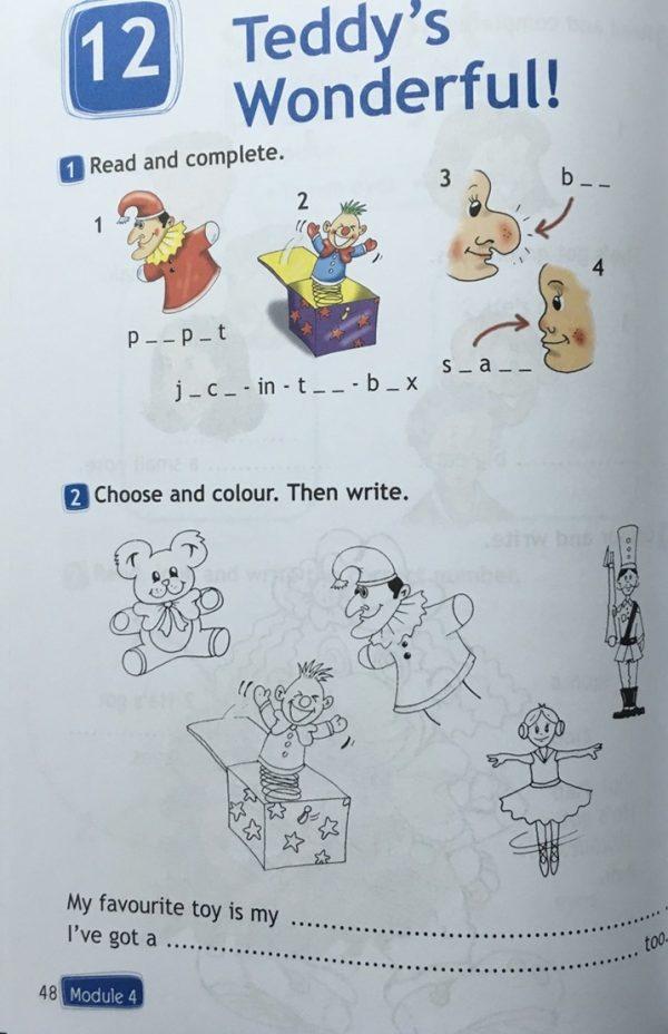 Быкова. Английский язык. Рабочая тетрадь. 2 класс