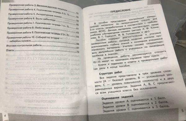Шубина. КИМн-ВПР. Литературное чтение 3кл.