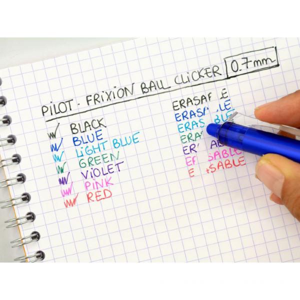 Ручка гелевая Pilot Flixion Ball синяя 0,7мм
